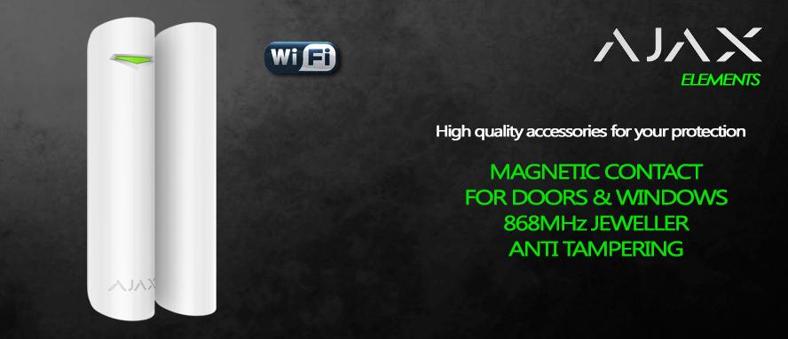 Contatto magnetico apertura porte e finestre