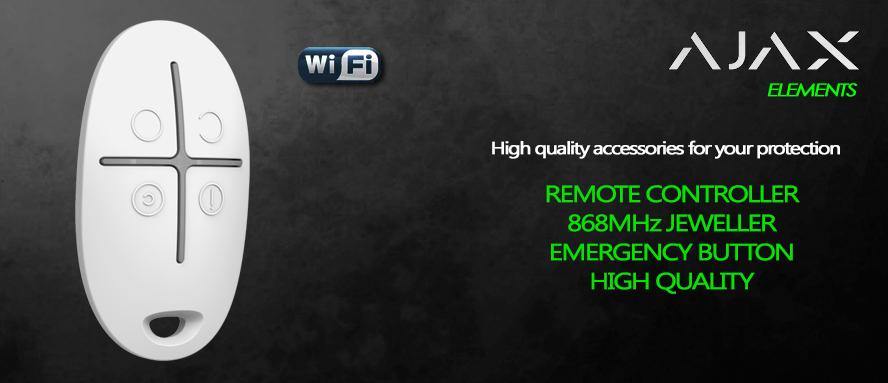 Telecomando remoto allarme senza fili Ajax 868MHz