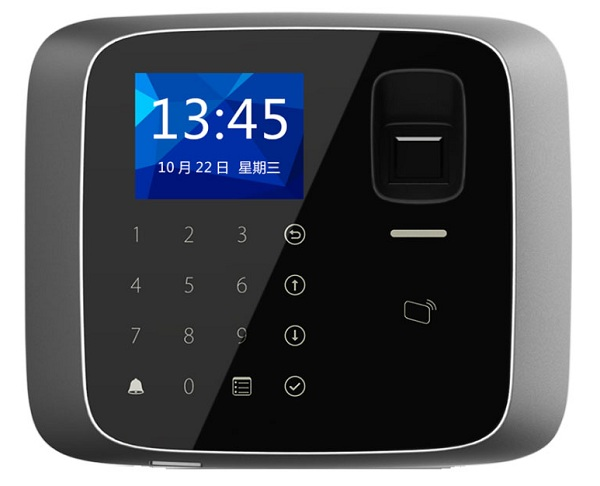Terminale biometrico autonomo con lettore RFID
