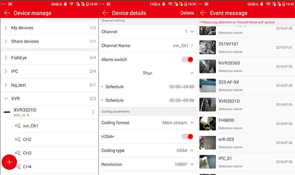 Screenshot dell'applicazione Bitdog