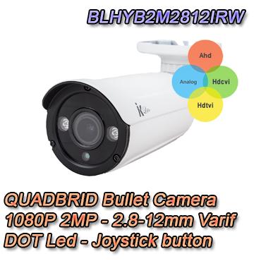 Telecamera Bullet 4in1 Serie Lite di Setik 2MP 2.8-12mm