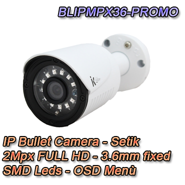 IP Camera 2Mpx 3.6mm  IP66 Video Surveillance