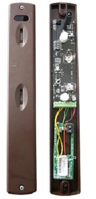 Sensore allarme perimetrale effetto tenda via radio 868MHz doppio pir con antimascheramento