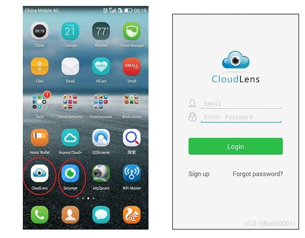 Applicazione CloudLens