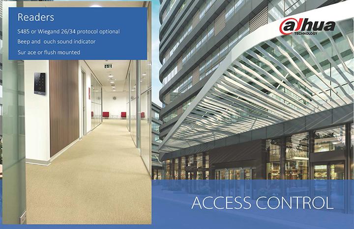 Lettore di prossimità Controllo Accessi Dahua per tessere RFID Mifare