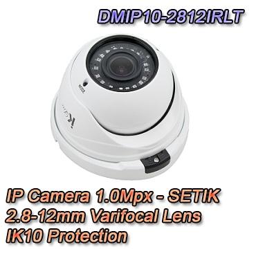 Telecamera IP 1Mpx  2.8-12mm Dual Core DSP Videosorveglianza