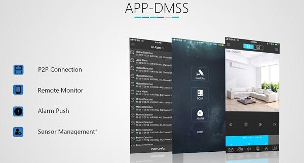 Cloud P2P App DMSS Dahua