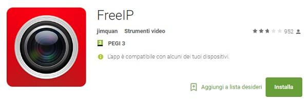 Applicazione FREE IP