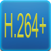Questo DVR supporta la video compressione H264+ dual-stream