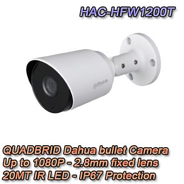 Telecamera Bullet con 4 tecnologie in 1 Dahua