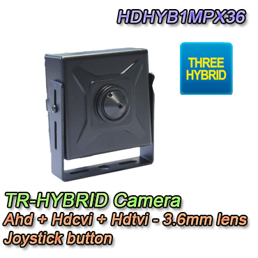 Telecamera Nascosta 3in1 Ahd Hdcvi Hdtvi 720P 3.6mm