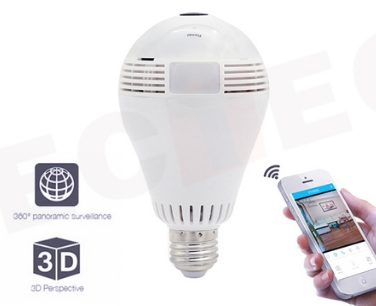 Connessione Rete WiFi Wireless LAMP720P