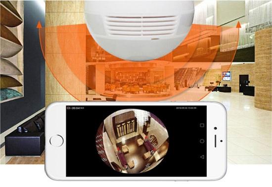 Raggio massimo per il monitoraggio LAMP720P