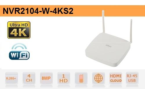 NVR 4 Canali IP - fino a 8mp