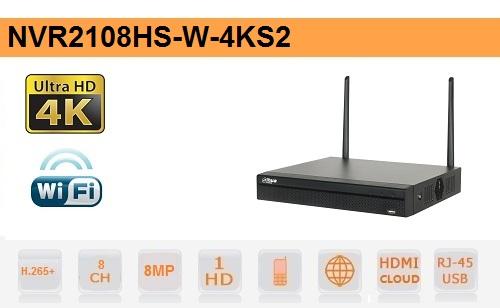 NVR 8 Canali IP - fino a 8mp