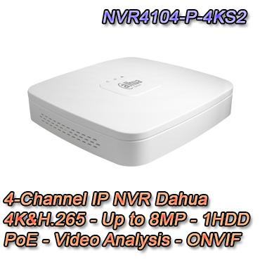 NVR IP Setik con risoluzione fino a 8MP e Video Analisi