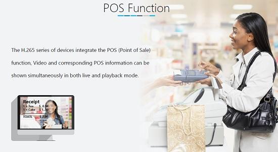 Possibilità di collegamento dispositivi POS