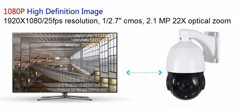 Immagine esempio risoluzione telecamera PTZKP2M22XIR