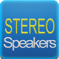 2 Speakers stereo 1W