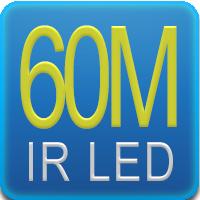 Illuminaore IR con portata fino a 60mt