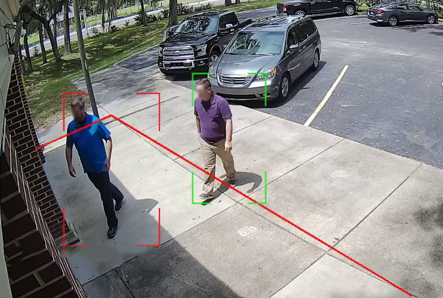 Attraversamento linea - Video Analisi
