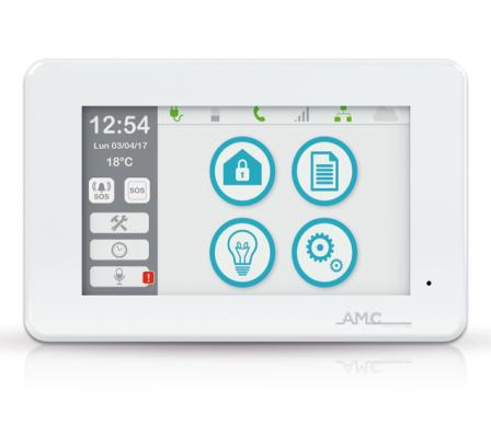 Tastiera UNIKA Touchscreen display 5 pollici, lettore SD Card, lettore NFC, Microfono e Altoparlante - AMC