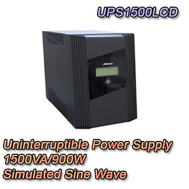 Gruppo di continuità UPS potenza 1500VA / 900W Display LCD