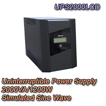 Gruppo di continuit? UPS potenza 2000VA / 1200W Display LCD