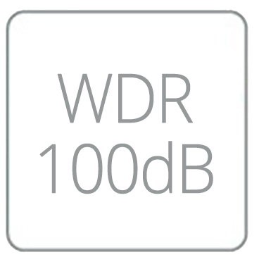 Wide Dynamic Range 100dB