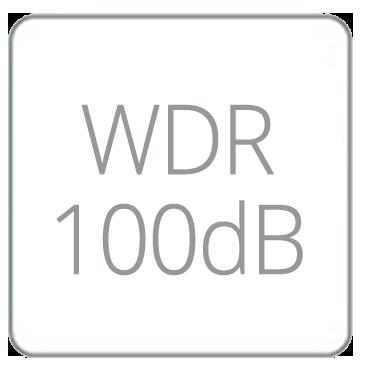 Wide Dynamic Range 100dB