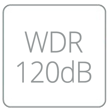 Wide Dynamic Range 120dB