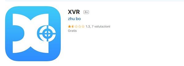 App Mobile per Cloud P2P XVR